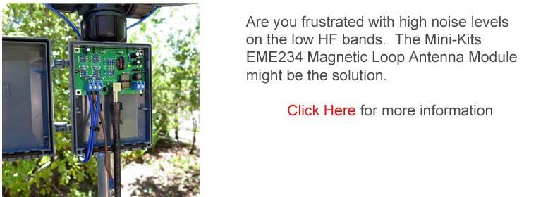 EME234 Magnetic Loop Antenna Module