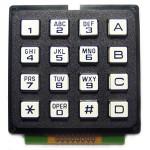 16 Key 4x4 Alpha Numeric Keypad