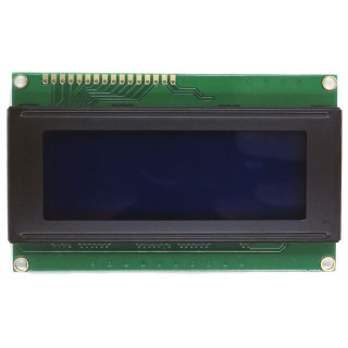 LCD Display 40x4 Blue/White QC2004A