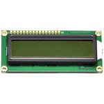 LCD4 Display 16x2 Green/Black