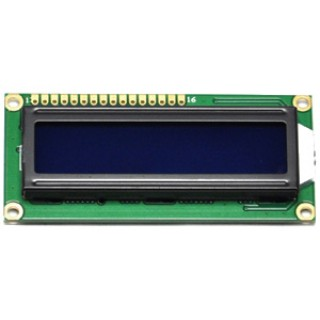 LCD5 Display 16x2 Blue/White