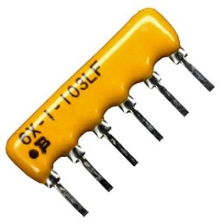 10kohm x 5 Bussed Resistor Array 2.54mm