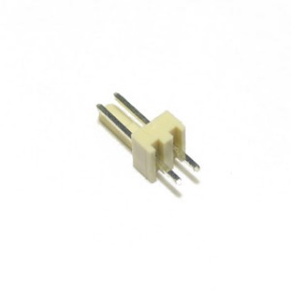 2.54mm 2 Way PCB Header