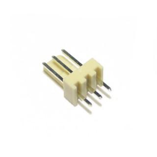 2.54mm 3 Way PCB Header