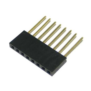 Header Stackable 8x1 SIL 2.54mm
