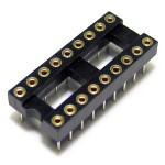 IC Socket 18 Pin DIP Machined