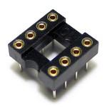 IC Socket 8 Pin DIP Machined
