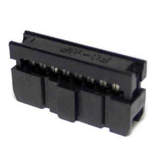 IDC16S 8x2 DIL 2.54mm