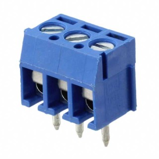 Terminal Block 3 Way 5mm