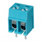 Terminal Block 2 Way 5mm 15A 300vdc
