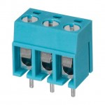 Terminal Block 3 Way 5mm 15A 300vdc