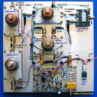 9cm 3400MHz Transverter