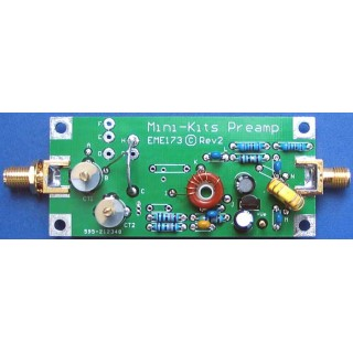 70cm 430MHz Receive Only Preamplifier