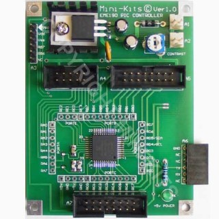 EME190 PIC18F4520 Controller