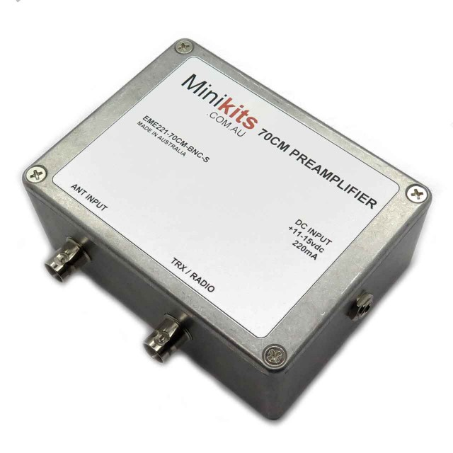 70cm UHF RX/TX Preamplifier