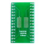 PCB 28 Pin TSSOP 0.65/1.27mm to DIP28