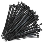 Cable Tie Black 100mm Long