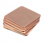 Copper Heatsink Shim 20x20x0.5mm