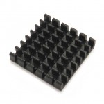 Heatsink Grid Array 25x25x6mm with 3M adhesive