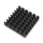 Heatsink Grid Array 25x25x6mm with 3M adhesive