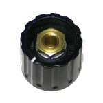 Knob Elma Black Line 21/6mm