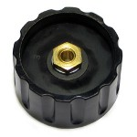 Knob Elma Black 36/6mm