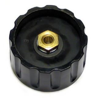 Knob Elma Black 45/6mm