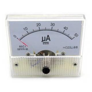 Analogue Panel Meter 50uA