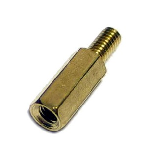 SPA-M3x8+6-B Male-Female Brass Hex PCB Standoff Spacer