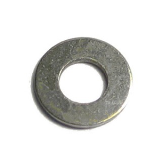 M2 Washer Flat Nickel Brass
