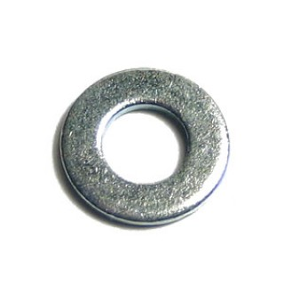 M2 Metric Flat Washer Zinc Plated Steel