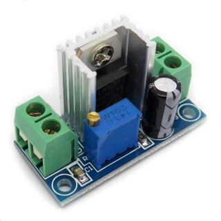 LM317 DC-DC Adjustable PSU Module