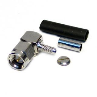 SMA16-NP Male R/Angle Connector RG174/316