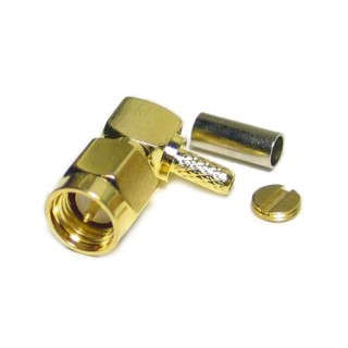 SMA16-GP Male R/Angle Connector RG174/316
