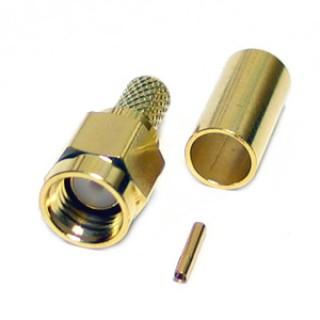 SMA19 RP Plug RG58 / 195 Type