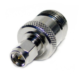 SMA24 SMA Male to N Female Adapter