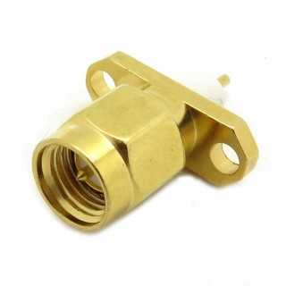SMA48 Male 2 hole Chassis Mount SMA Connector