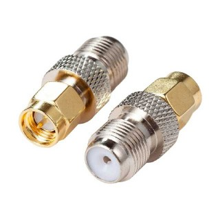 SMA56 SMA Male Plug to F Type Female Jack Adaptor